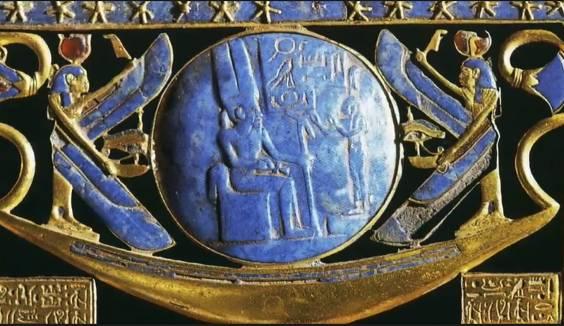 Космическое Раскрытие: Голубые Авиане и сферы в древнем искусстве 264_10