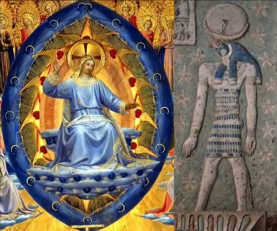 Космическое Раскрытие: Голубые Авиане и сферы в древнем искусстве 264_11