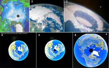 фото с китайского спутника антарктиды