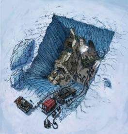 Дэвид Уилкок. Последняя игра 2: Атлантида в Антарктиде и древние инопланетные руины 302_2