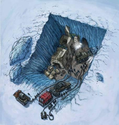 Дэвид Уилкок. Последняя игра 2: Атлантида в Антарктиде и древние инопланетные руины 302_43