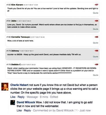 """Дэвид Уилкок. """"Кори Гуд: Темный Альянс в панике. Угрозы моей семье, жизнь Дэвида Уилкока и юридические провокации"""" 351_6"""