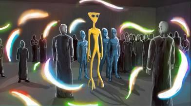 Дэвид Уилкок. Космическое Раскрытие: Прибытие новых Часовых. Интервью с Кори Гудом 404_12