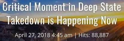 """Дэвид Уилкок 27 апреля 2018: """"Важный момент в разрушении Глубинного Государства – всё происходит сейчас"""" 410_24"""