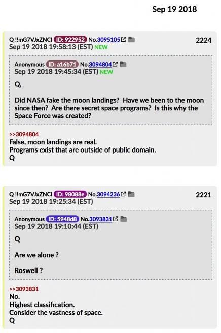 МОМЕНТ ИСТИНЫ: Q Анон раскрывает Тайную Космическую Программу 447_3