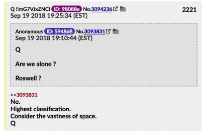 МОМЕНТ ИСТИНЫ: Q Анон раскрывает Тайную Космическую Программу 447_4