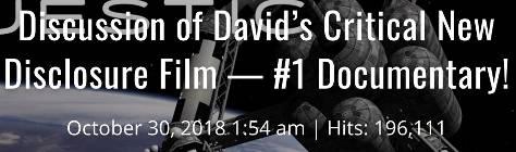 Обсуждение нового важного документального фильма Дэвида в связи с Раскрытием – Документальный фильм №1 451_34